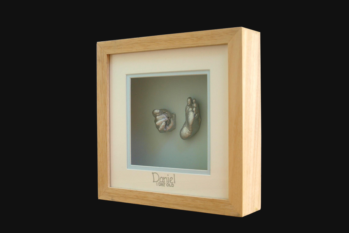Memory Castings Narre Warren - Casting Keepsake in Frame
